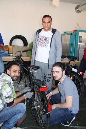 Die FAN sucht dringend gebrauchte  Jugend- und Herrenräder.  Foto: Finn
