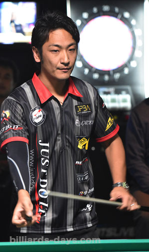 Toru Kuribayashi won 2016 Grand Prix East stop#7