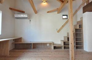 設計施工之コータロー 自然素材を使った部屋
