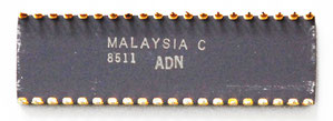 Intel C8087-2 Back View