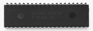 Atmel ATmega8515-16PU Back View