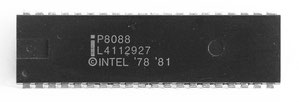 Intel P8088 Front View