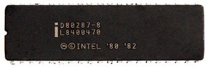 Intel D80287-8 Front View