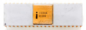 Intel C8080A Front View