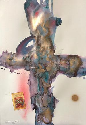 「十字架」 54.5cm×78.8cm