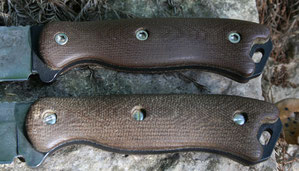Stainless Hardware in Factory Micarta