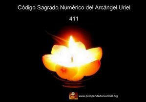 ARCÁNGEL URIEL AFIRMACIONES PODEROSAS- CÓDIGO SAGRADO NUMÉRICO - 411 - PROSPERIDAD UNIVERSAL www.prosperidaduniversal.org