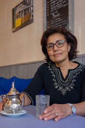 Maria Vigouroux, gérante et chef du restaurant Saveurs Nomades à Créon.