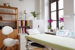 Behandlungsraum Nadelepilation Hannover