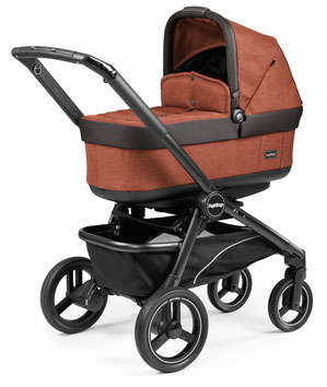 kinderwagen team pop-up dessin terracotta navetta