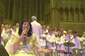 Concert dans la Basilique supérieure d'Assise