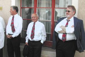 v.l.: Hans Wenger, Walter Erne, Oskar Umbricht