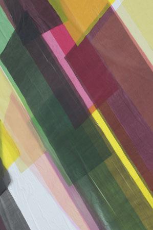 gelb, grün, pinke Folienverlauf