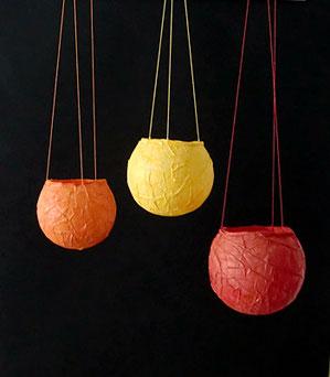Papierlaternen für Teelichter, von Anke Teichert, Freiamt