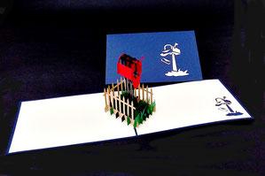 """""""Postbox"""" Pop Up Karte - LIN ArtDesign -"""
