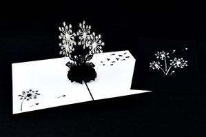 """Pusteblume"" Pop Up Karte - LIN ArtDesign -"