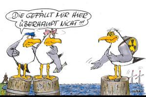 Karikatur von (c) Marlis Kahlsdorf
