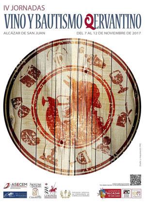 Programa de las Jornadas de Vino y Bautismo Cervantino en Alcazar de San Juan