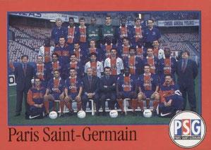 N° 257 - Equipe PSG