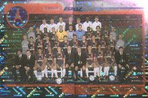 N° 281 et 282 - Equipe PSG