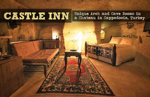 Hotel Review: Castle Inn - Unique Arch and Cave Rooms in a Chateau in Cappadocia | JustOneWayTicket.com