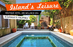 Island's Leisure Boutique Hotel and Wellness Spa in Dumaguete, Philippines | JustOneWayTicket.com