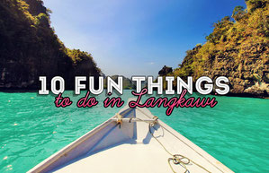 10 Fun Things and Activities to do in Langkawi, Malaysia - @Just1WayTicket