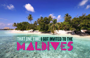 That One Time I Got Invited To The Maldives - @Just1WayTicket