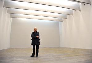 Pierre Soulages en son musée, janvier 2014