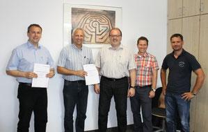 Bildungspartnerschaft zwischen RSK und Adolf Mütsch GmbH