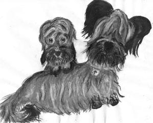 Dandie et Skye par Lauriane SCHULER