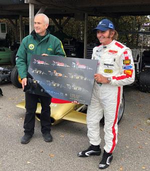 Lotus 72 - Michel Verrando - Emerson Fittipaldi
