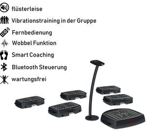 Galileo Vibrationsplatte Galileo Team Bundle, Preis, Vertrieb, Test, Meinungen: www.kaiserpower.com