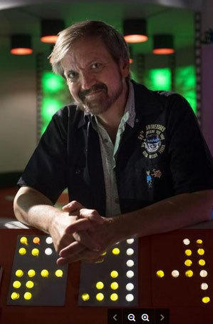 Larry Nemecek am Set von Star Trek Continues. Quelle: Larry Nemecek