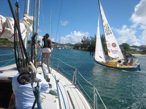Rodney Bay Marina Entrance