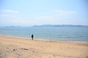 瀬戸の海は綺麗でおだやか