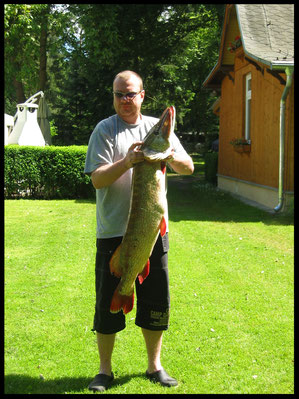 Monsterhecht im Lubowsee