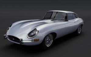 Jaguar E Coupé Beispielbild