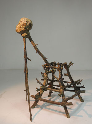 Fig 387, 2017, Bronze, Höhe 31,2cm, Unikat