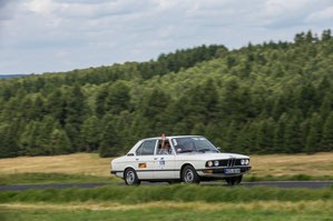 Team METROM mobile in a BMW build 1979