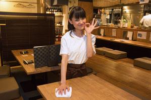 「キレイ」を通じてお客様と従業員満足アップに貢献!