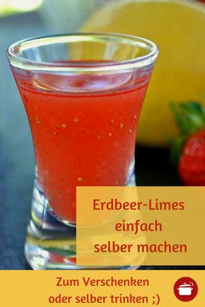 Das beste aus Erdbeeren: Erdbeer-Limes (auch für Thermomix) - altbewährtes Rezept
