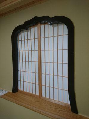 花頭窓 木製建具