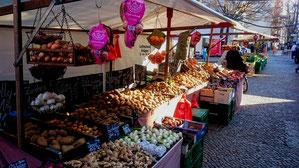 Marktstand Kartoffeln Berlin Charlottenburg Neukölln