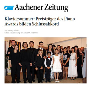 Press review Aachener Zeitung, 29th July 2014