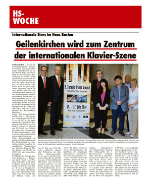 Press review HS-Woche, 06th July 2014