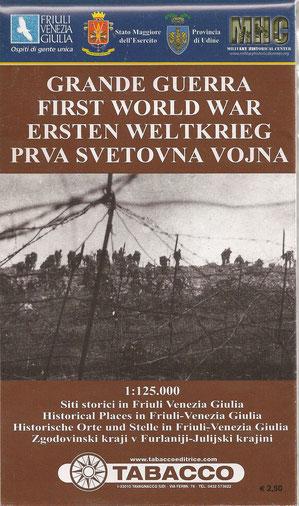 Tabacco Karte - Grande Guerra - Erster Weltkrieg