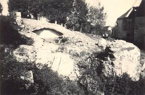 Bild: Rittergut Wünschendorf Abriss