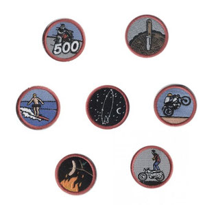 Iron and Resin Merit Badges