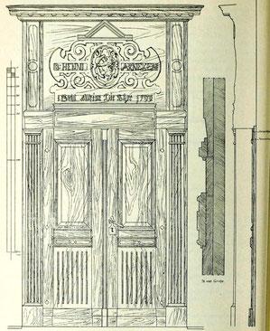 (3) Portal des Hinterhauses
